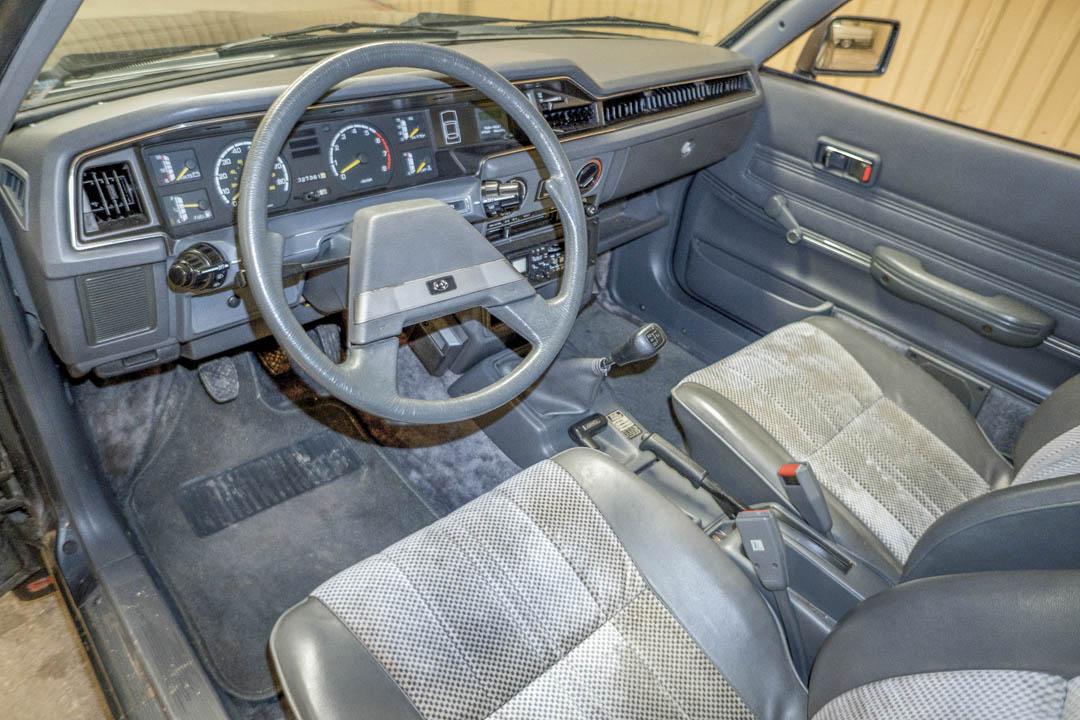 1987 Subaru Brat GL interior