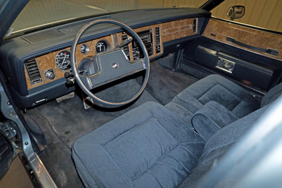 1986 Buick Electra Estate Wagon interior