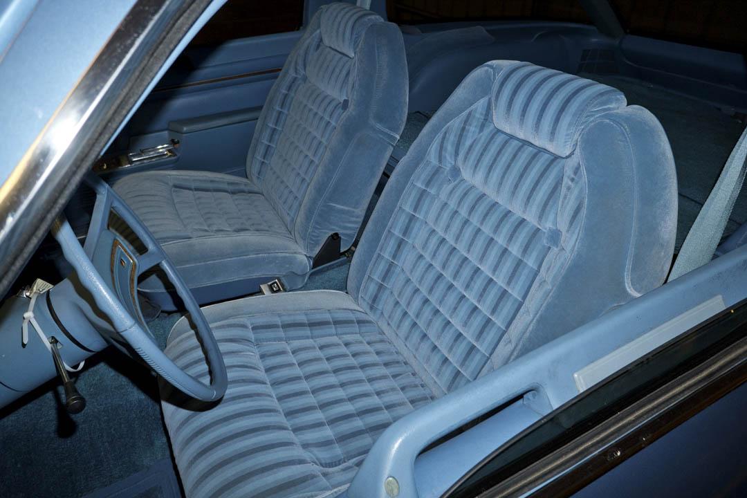 1980 AMC Pacer DL interior
