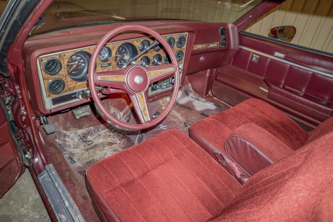 1984 Pontiac Grand Prix interior