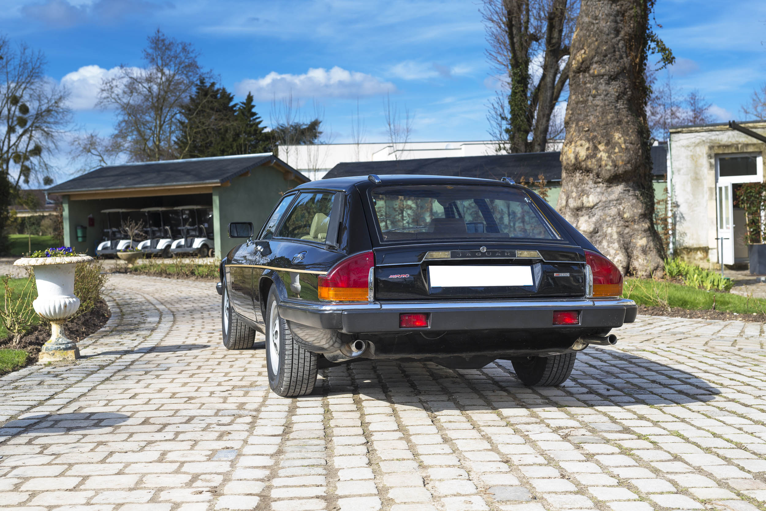 1984 Jaguar XJ-S V12 Lynx Eventer rear