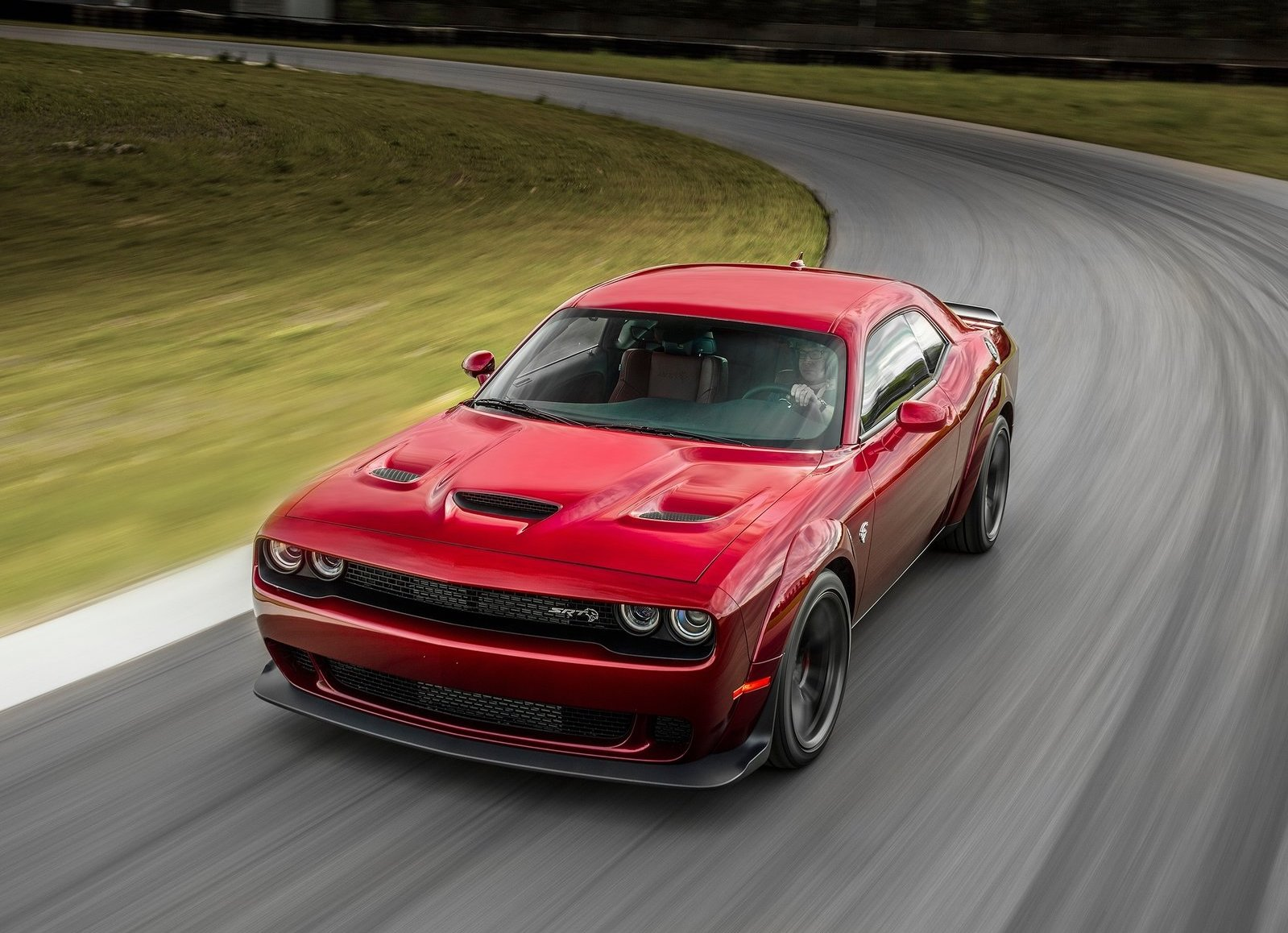 2018 Dodge Challenger SRT Hellcat Widebody on track