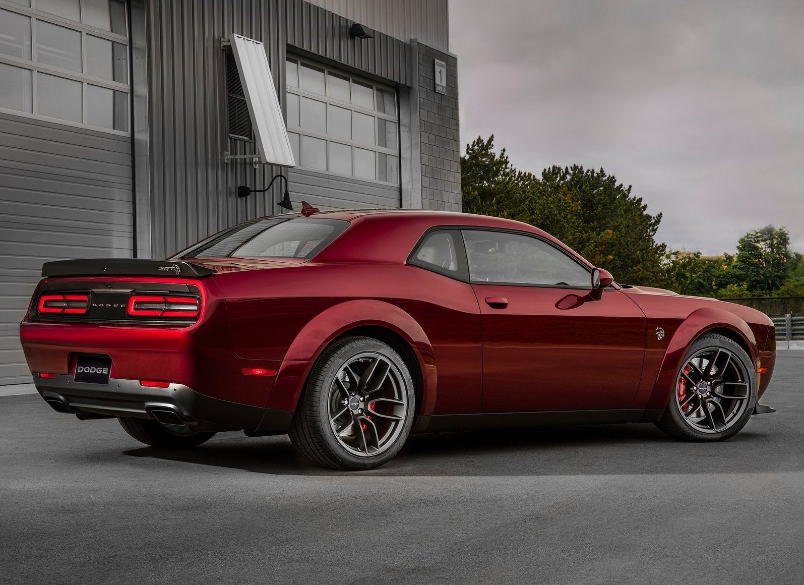 2018 Dodge Challenger SRT Hellcat Widebody Rear 3/4