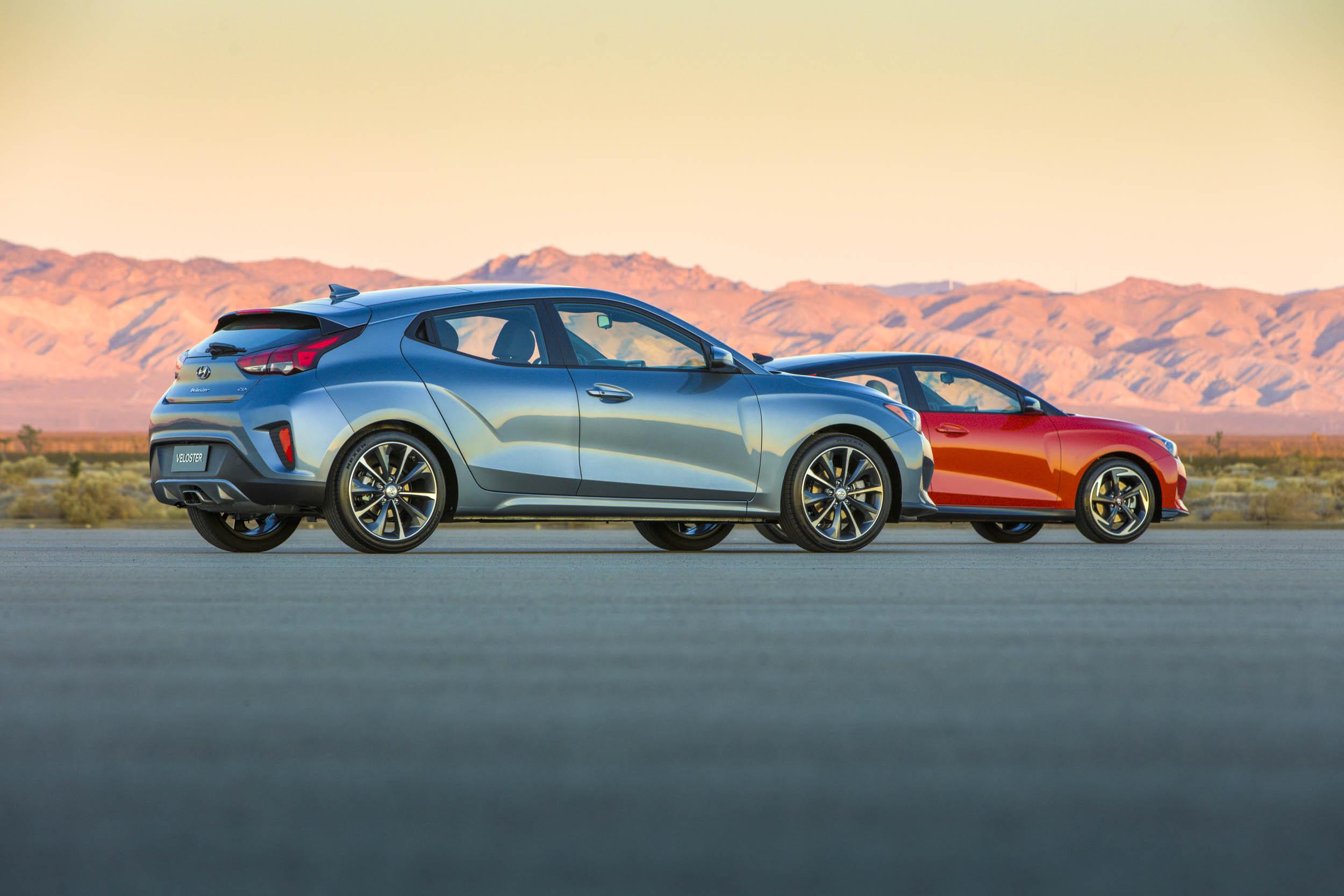 pair of 2019 Hyundai Velosters