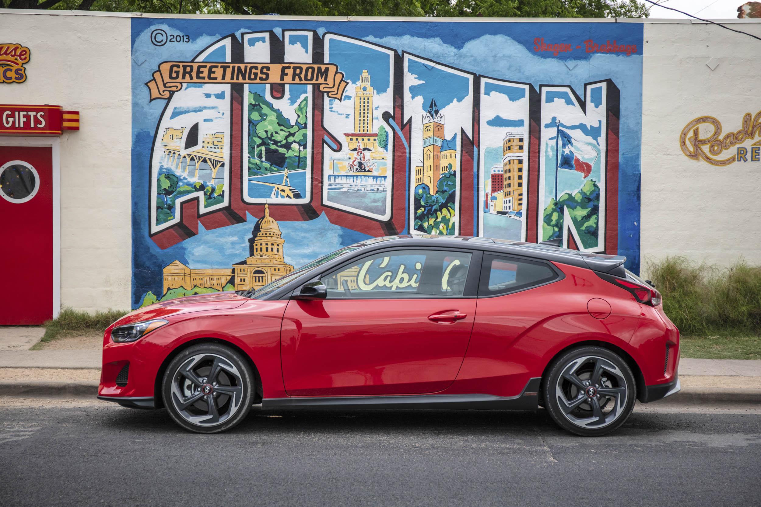 greetings from Austin Texas Hyundai Veloster