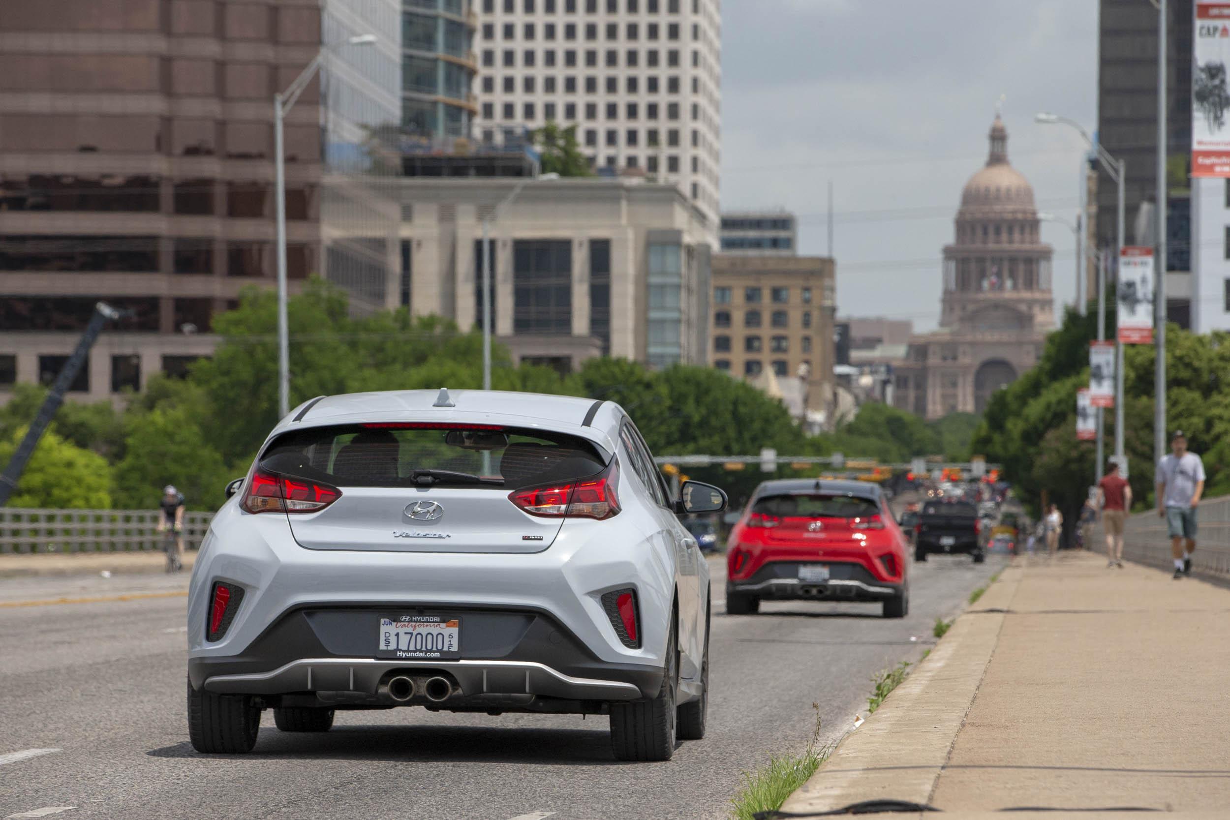 2019 Hyundai Veloster downtown Austin Texas