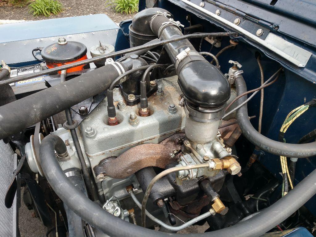 1946 Willys CJ2A JEEP engine