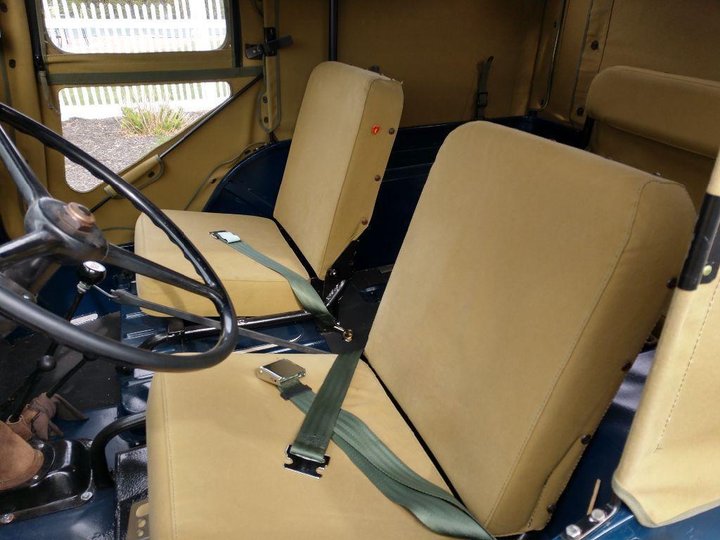 1946 Willys CJ2A JEEP interior