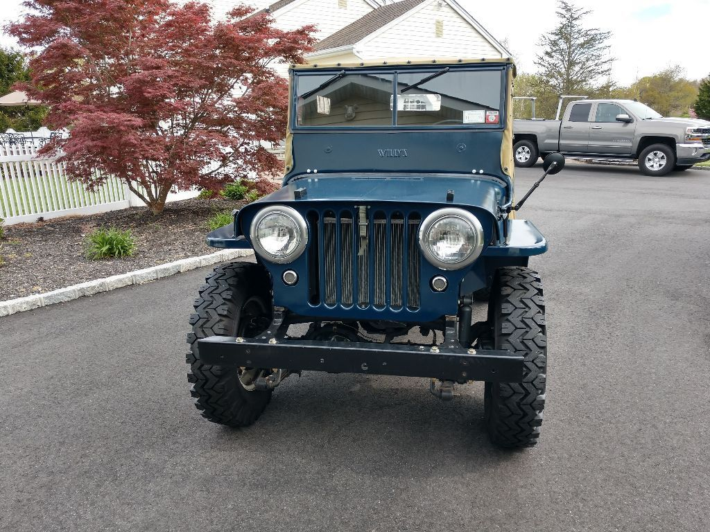 1946 Willys CJ2A JEEP front