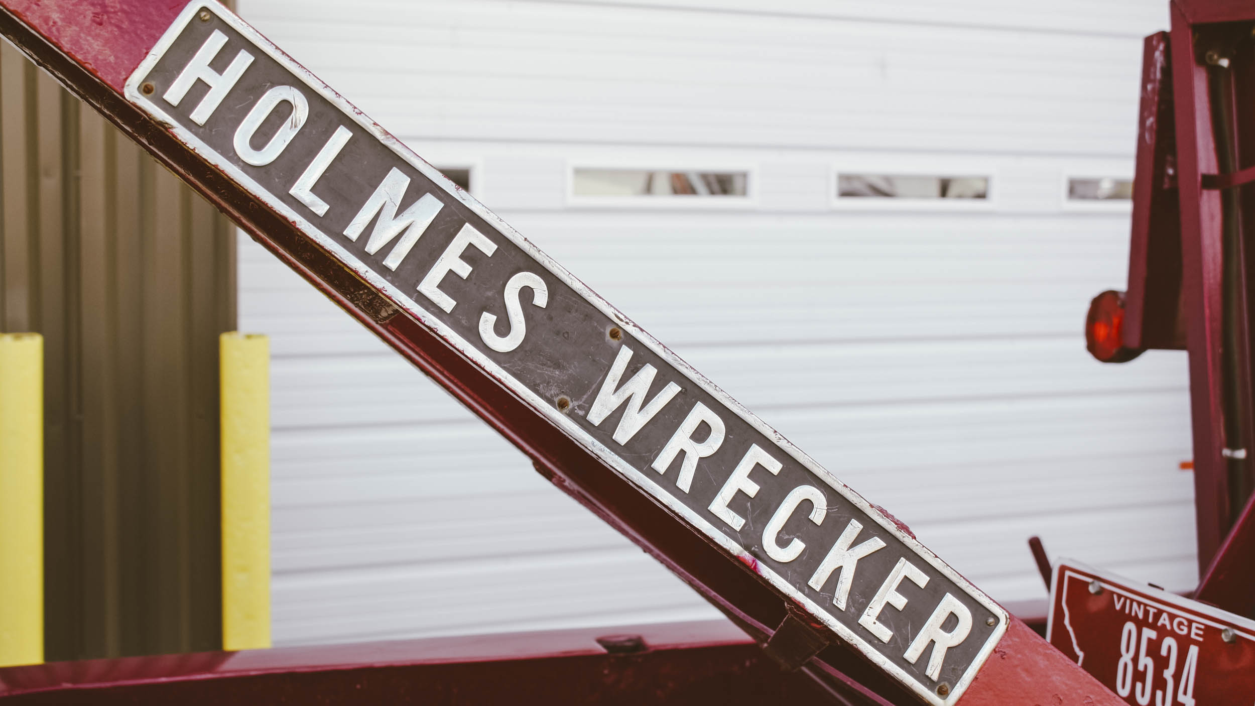 The Holmes 330 wrecker and the '55 Chevrolet was the mainstay of Frank's operation for many years and served as the launching point of his career that would land him as the second inductee into the Montana Tow Truck Association Hall of Fame