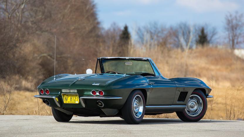 1967 Corvette Convertible Rear 3/4