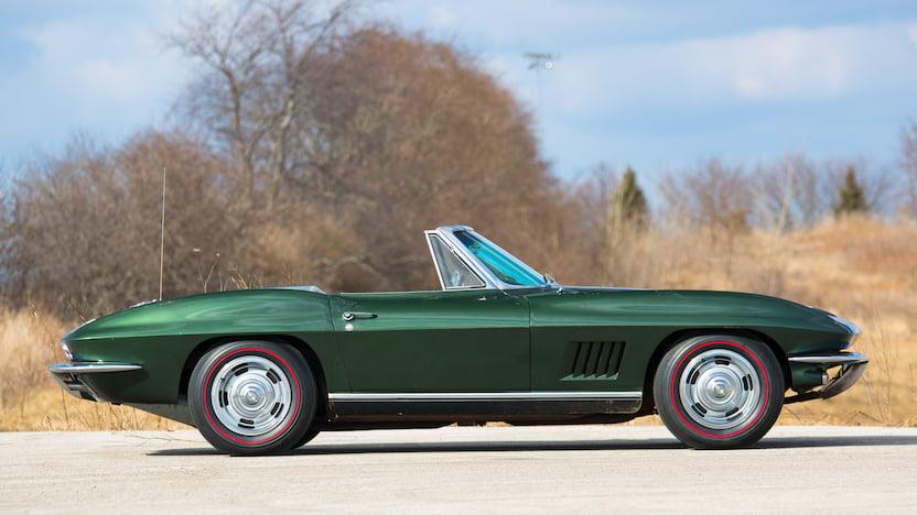 1967 Corvette Convertible Side Profile