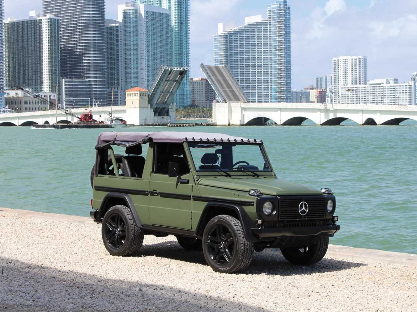 The Mercedes G-wagen is a rugged, head-turning alternative to the Toyota Land Cruiser thumbnail