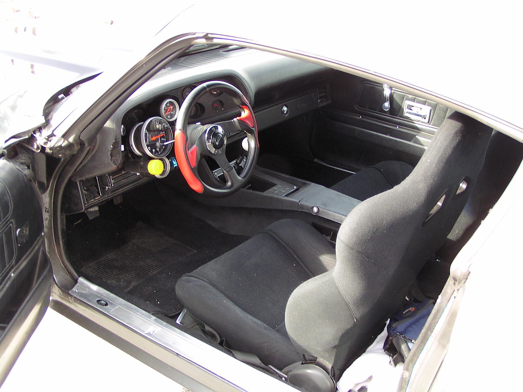 1970 Chevrolet Camaro Cockpit drivers seat