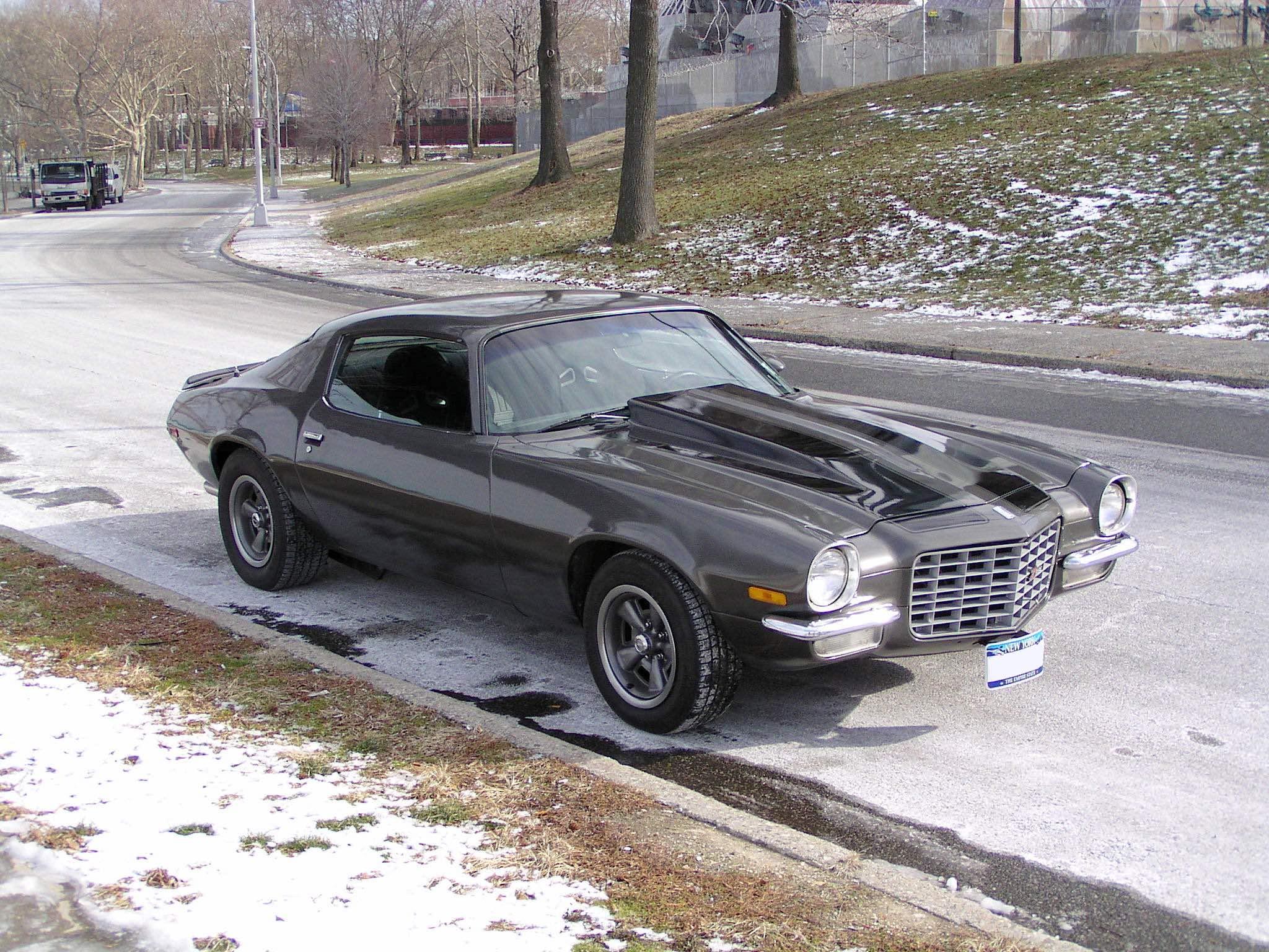 1970 Chevrolet Camaro Passenger 3/4 view