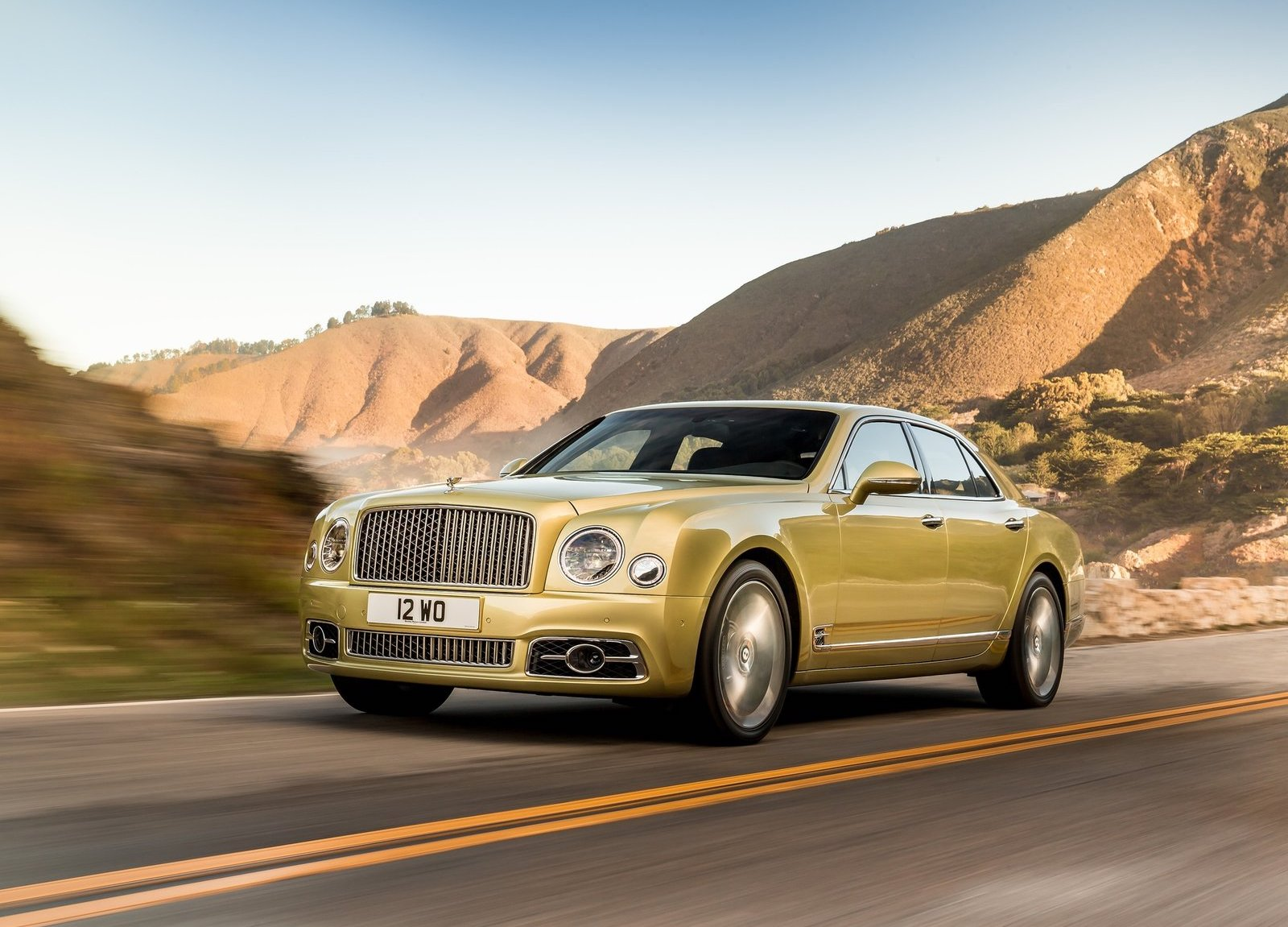 Bentley Mulsanne Speed 2017 Press