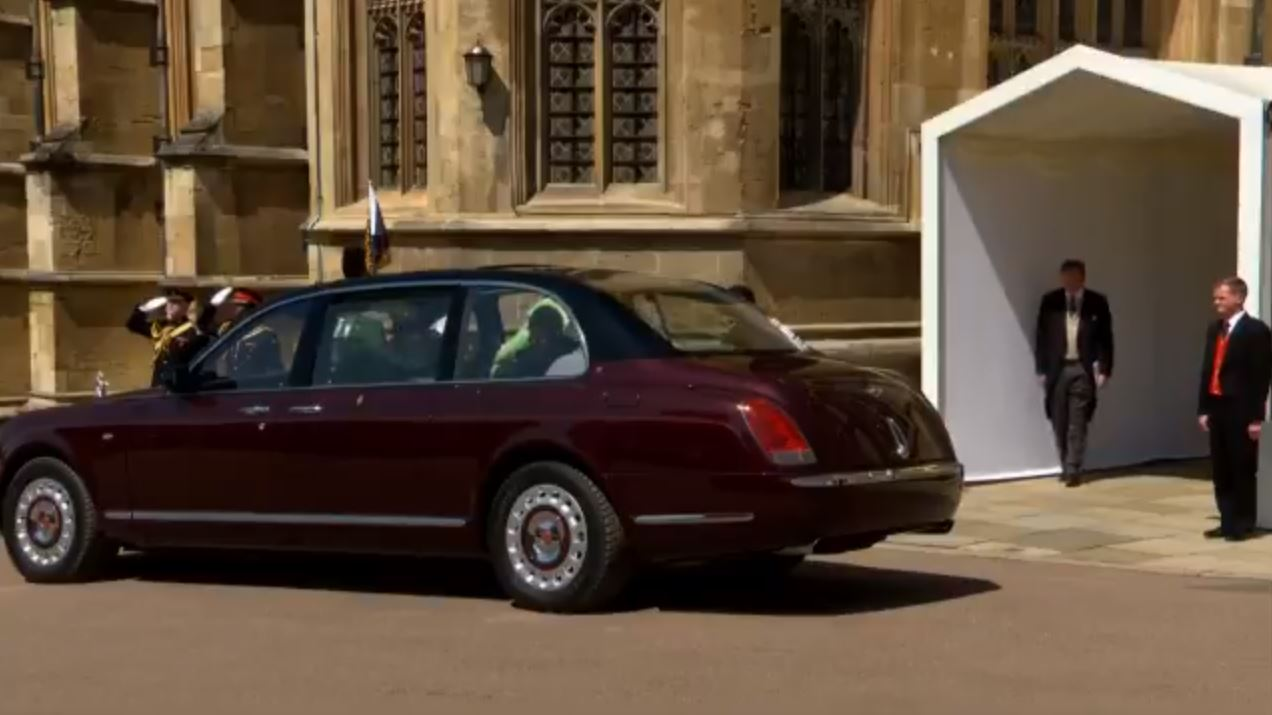 2002 Bentley Golden Jubilee State Limousine Royal Wedding