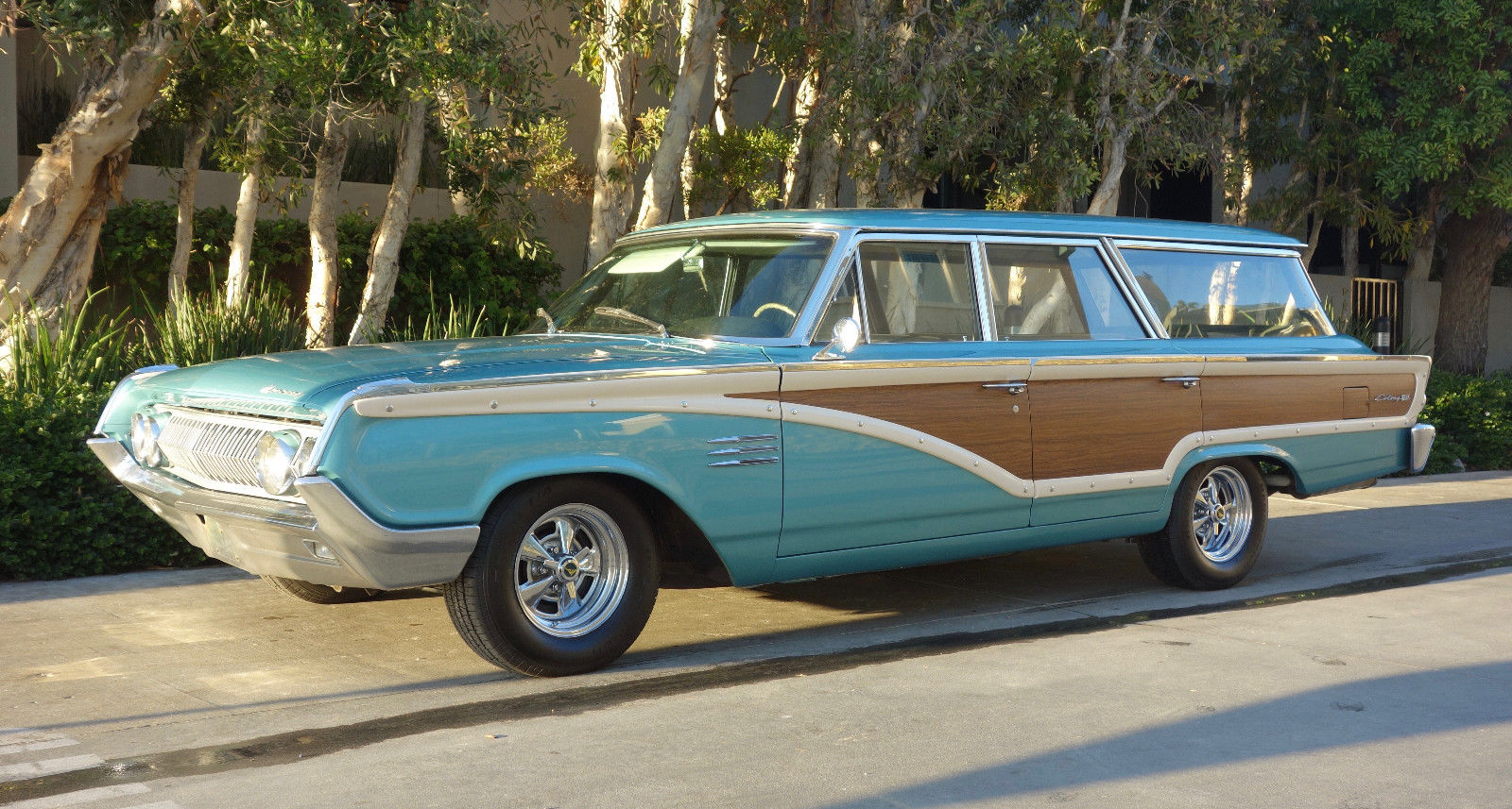This 1964 Mercury Colony Park Wagon is begging for a road trip thumbnail