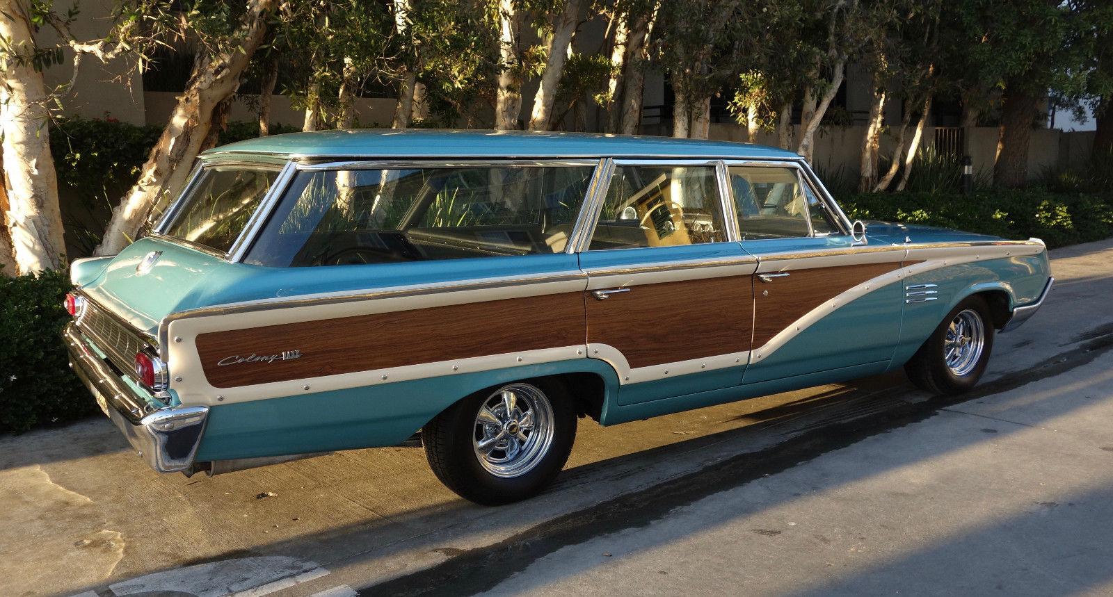 1964 Mercury Colony Park rear 3/4