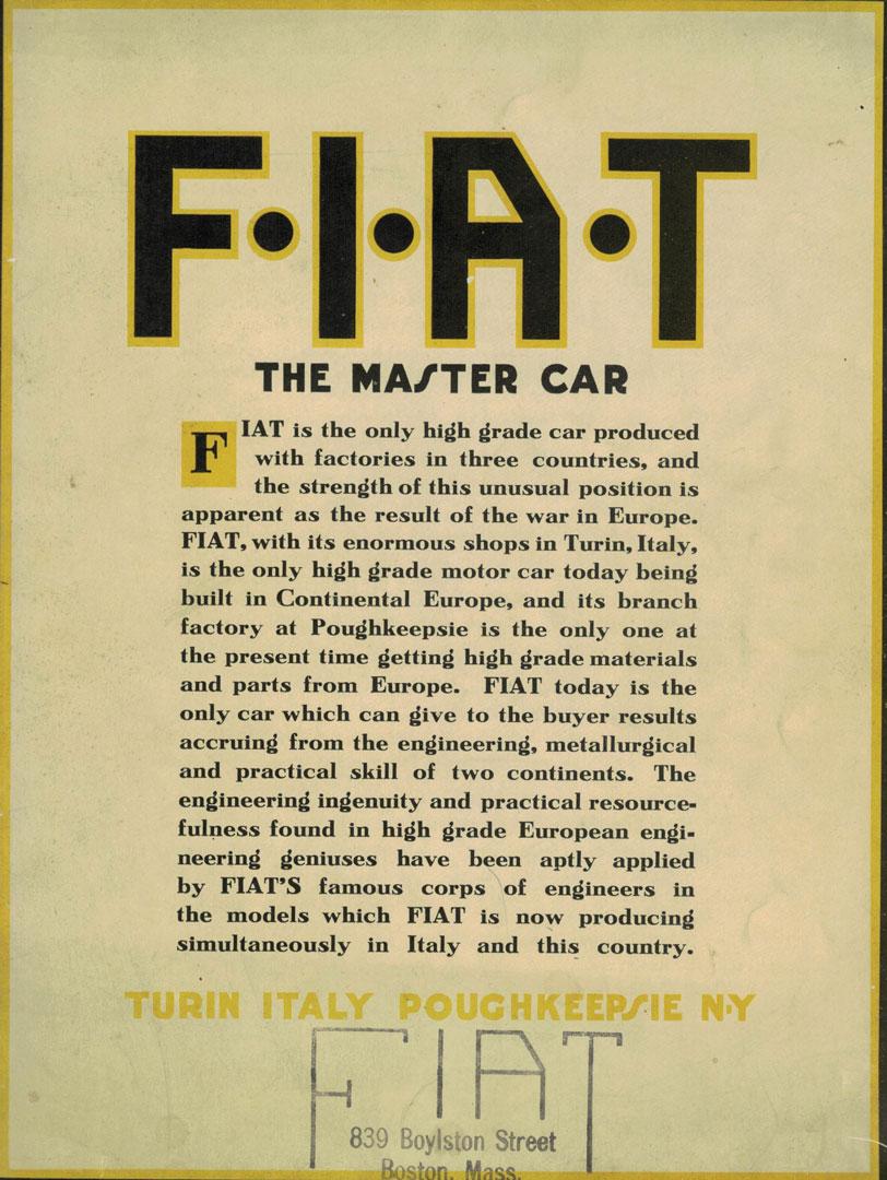Fiat cover