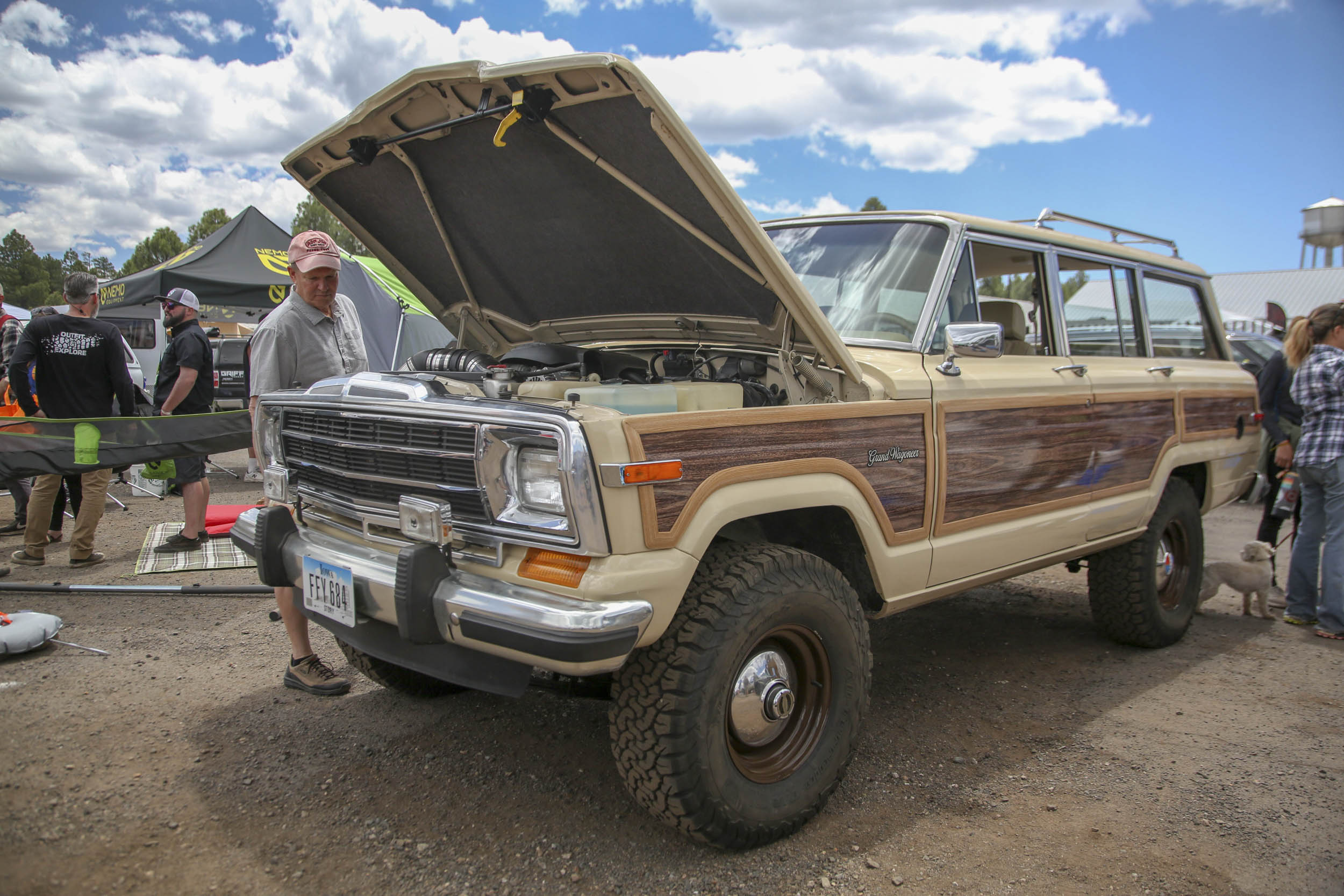 New Legend Jeep Grand Wagoneer