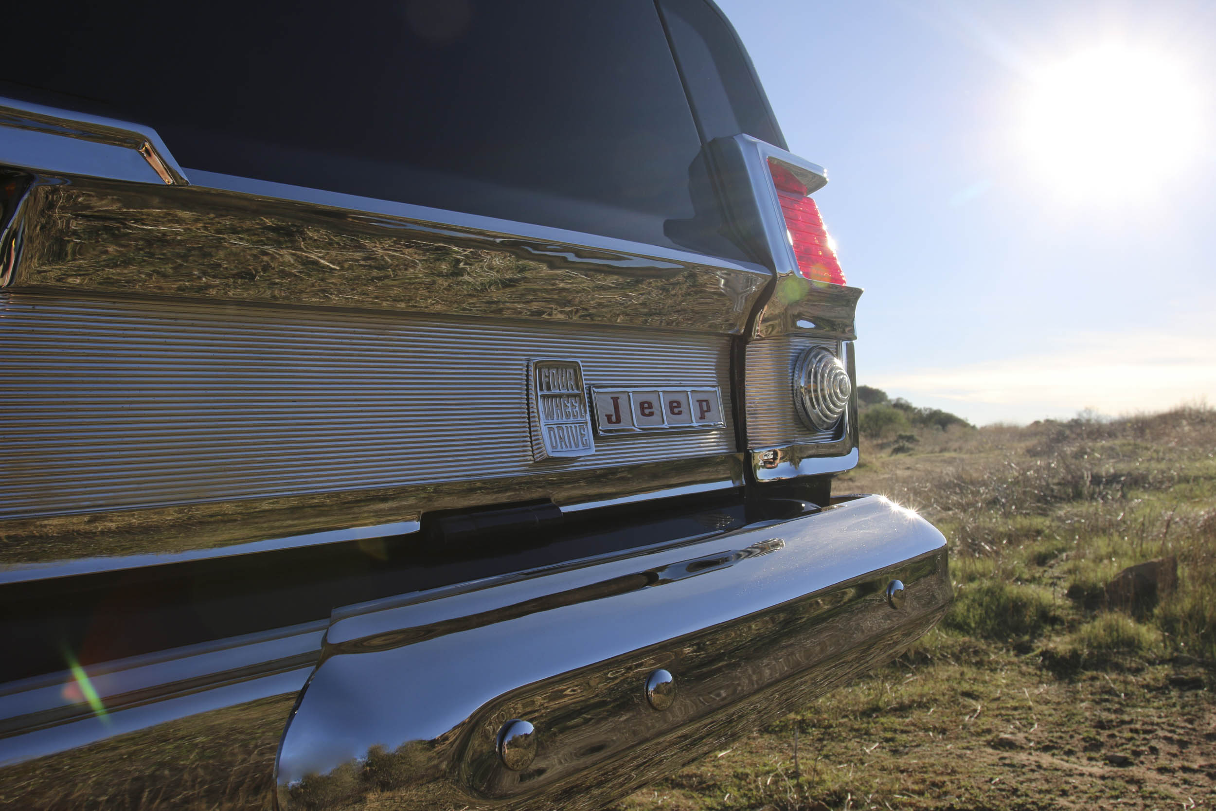 ICON Wagoneer tailgate detail