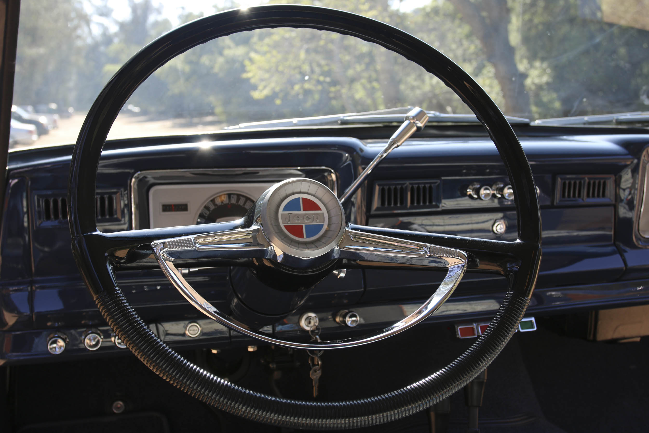 ICON Wagoneer steering wheel