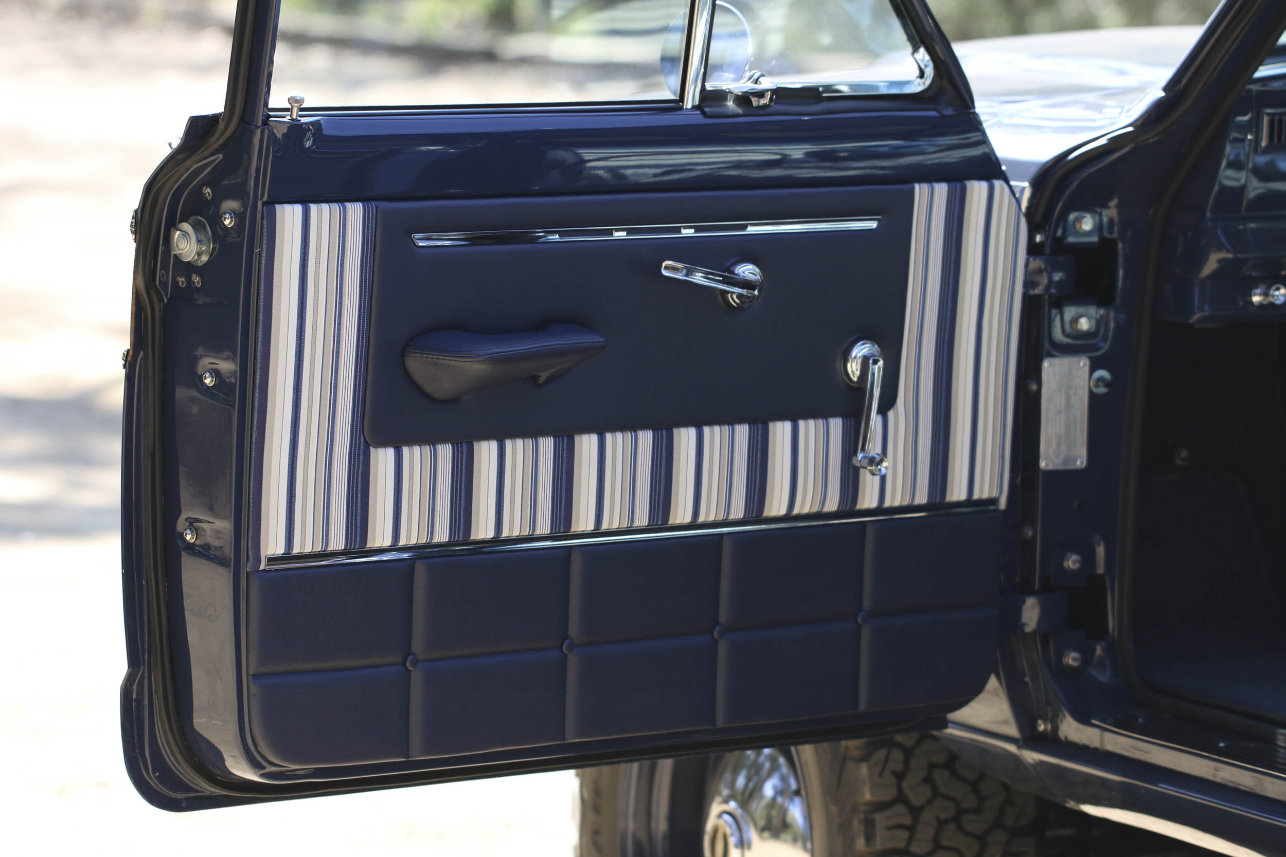 ICON Wagoneer drivers side door
