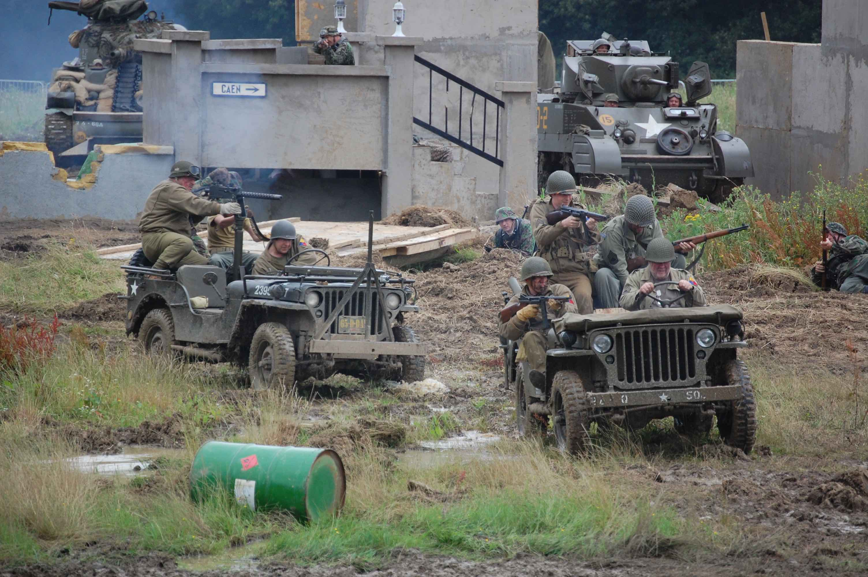 2018 War and Peace Revival Jeep battle