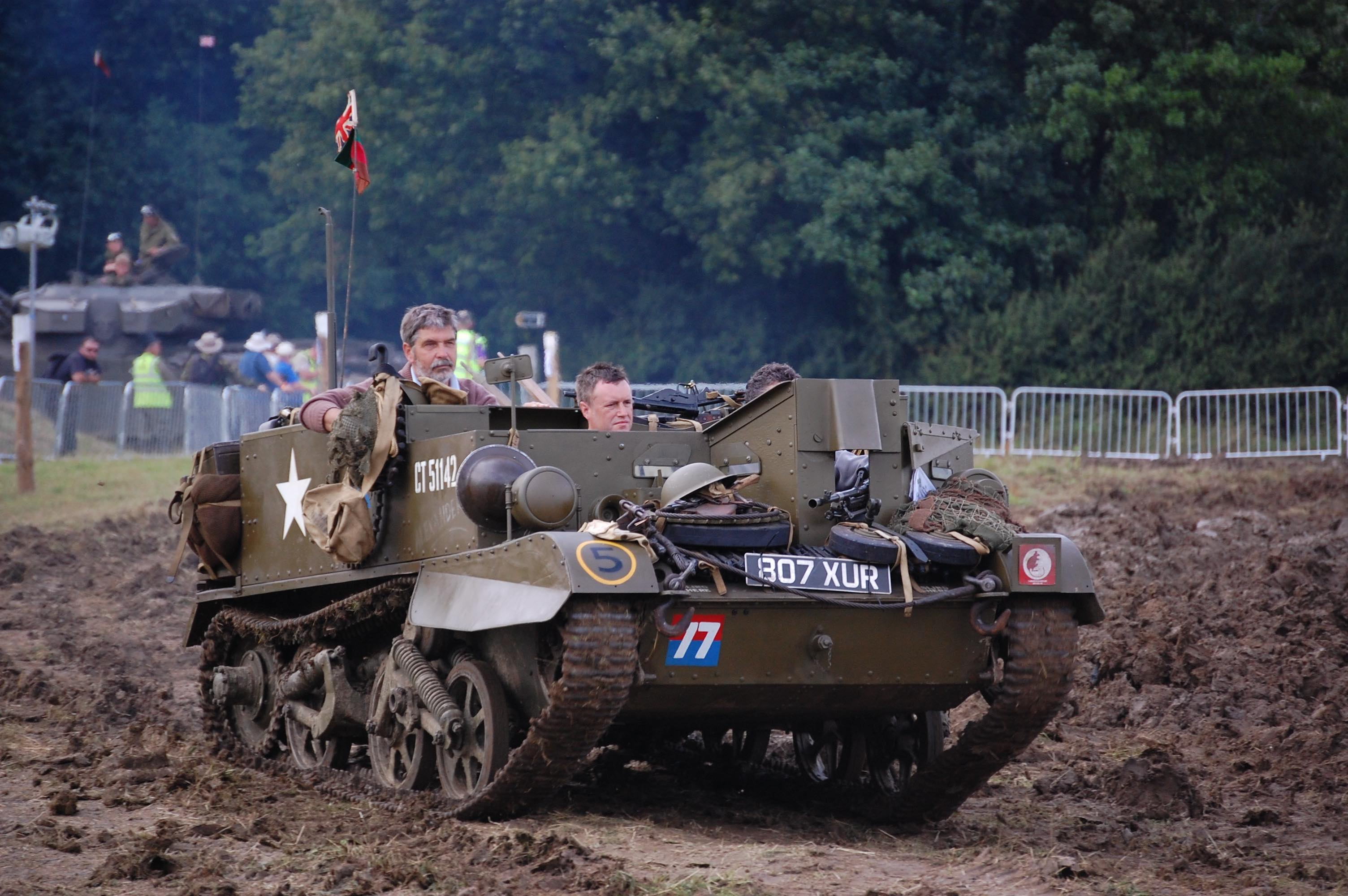 2018 War and Peace Revival Tank through mud