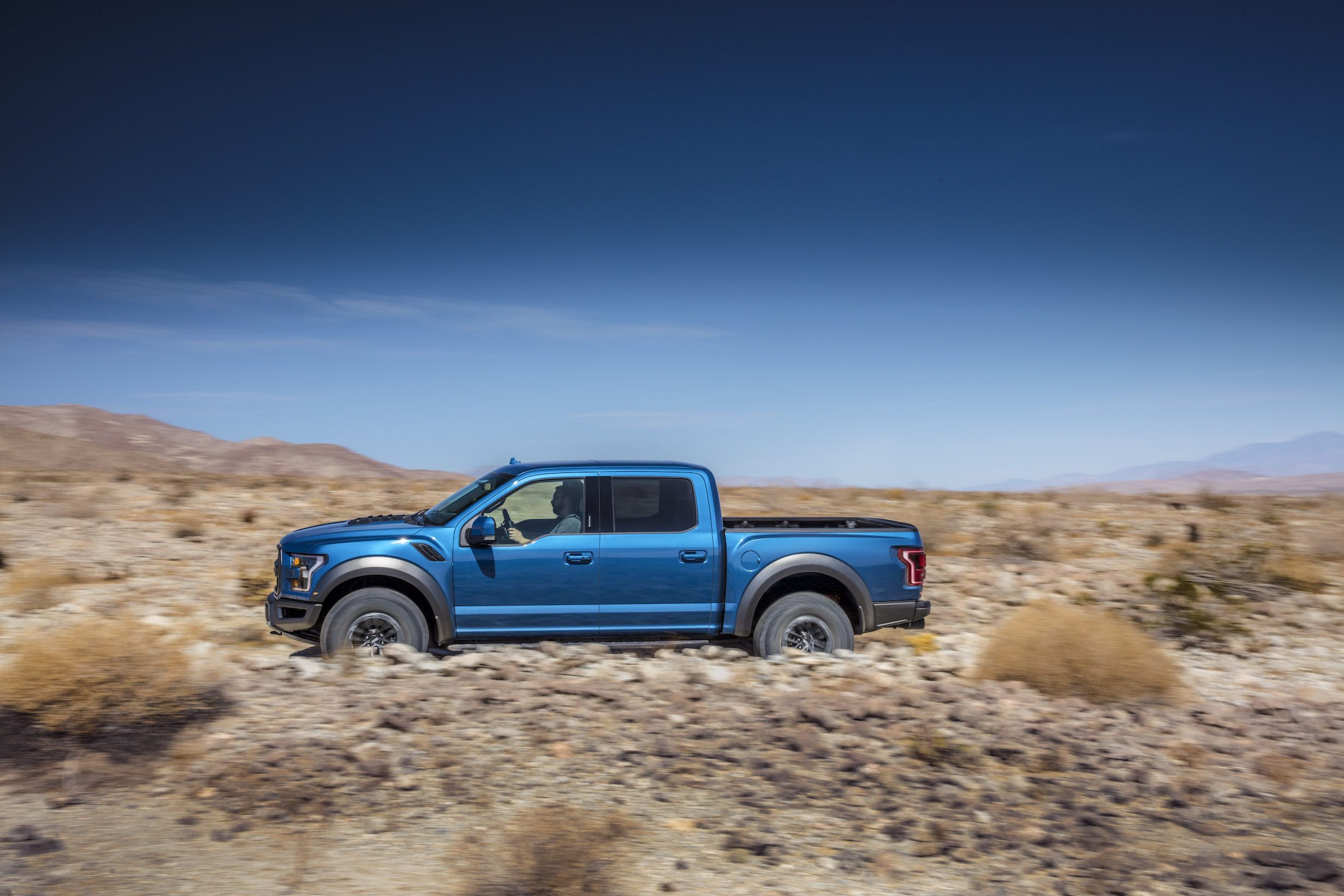 2019 Ford F-150 Raptor Side view off road