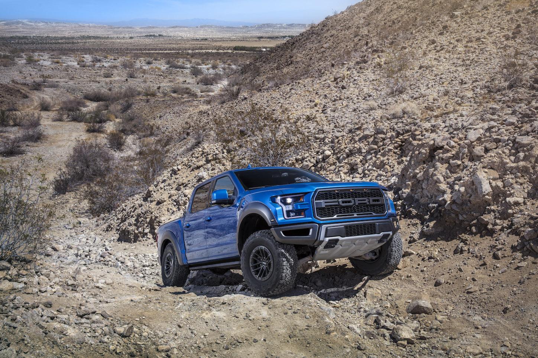 2019 Ford F-150 Raptor Hill climb