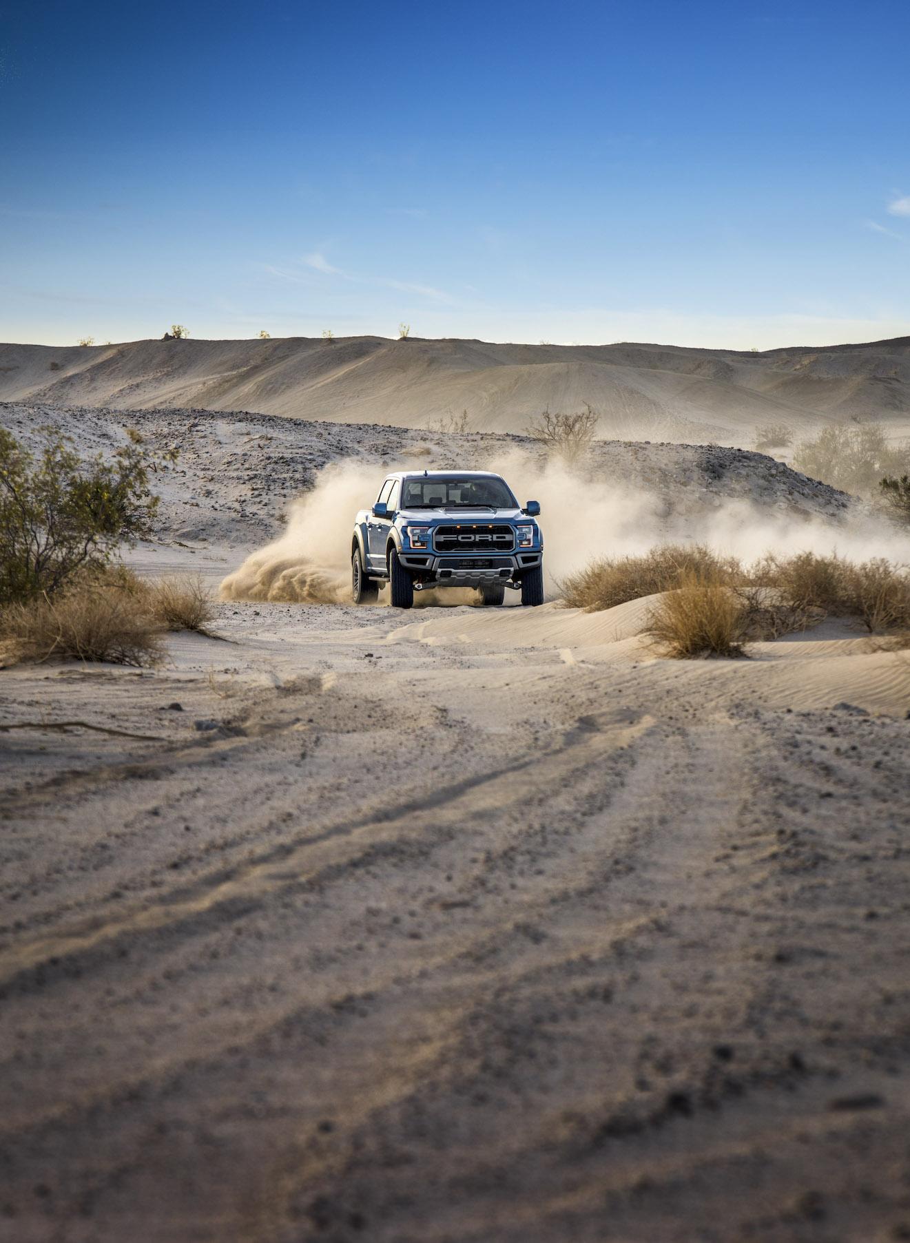 2019 Ford F-150 Raptor Dusty Trail