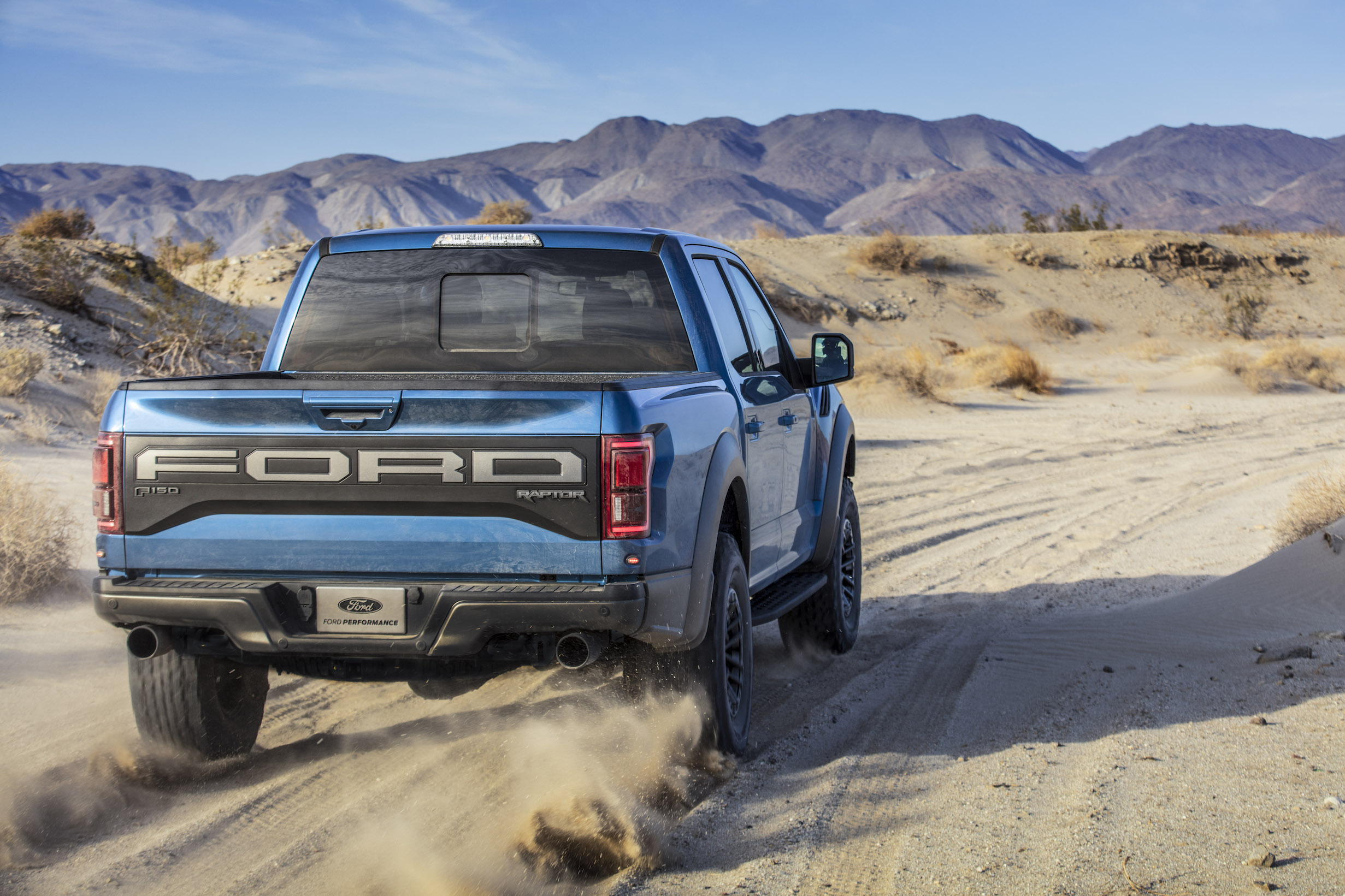 2019 Ford F-150 Raptor Mountains trail