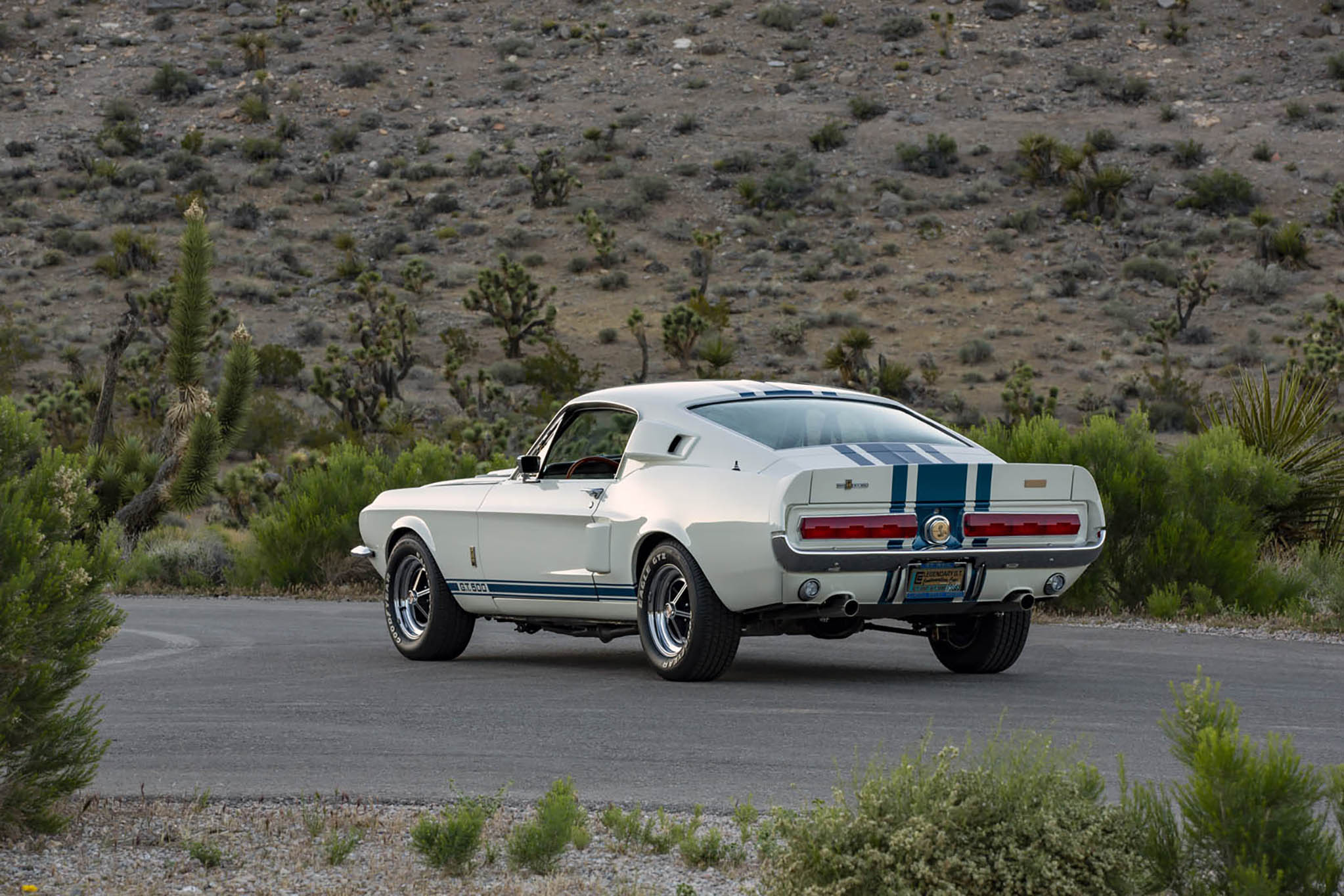 1967 Ford Shelby GT500 Super Snake Continuation Rear 3/4