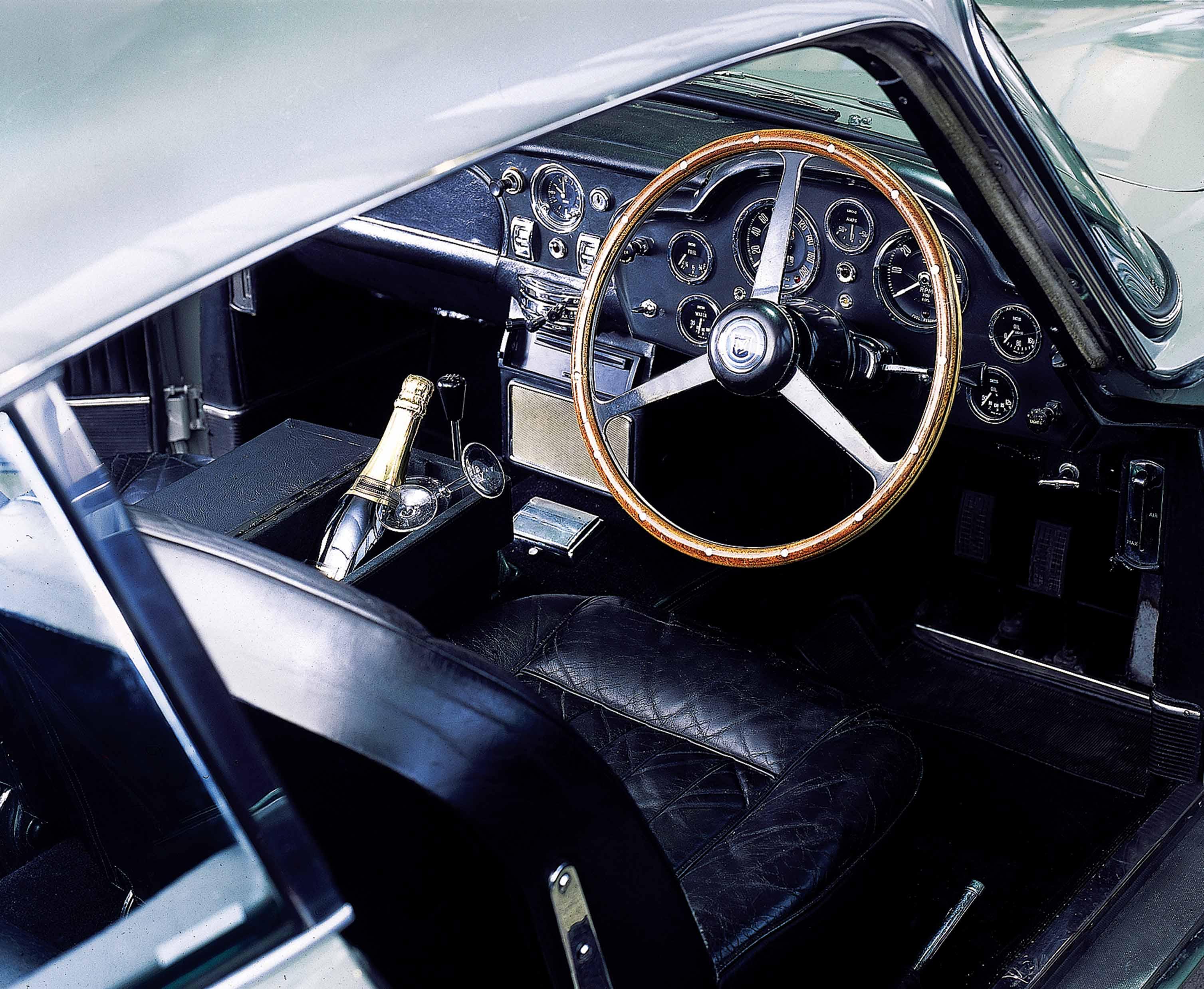 1965 Aston Martin DB5 Interior
