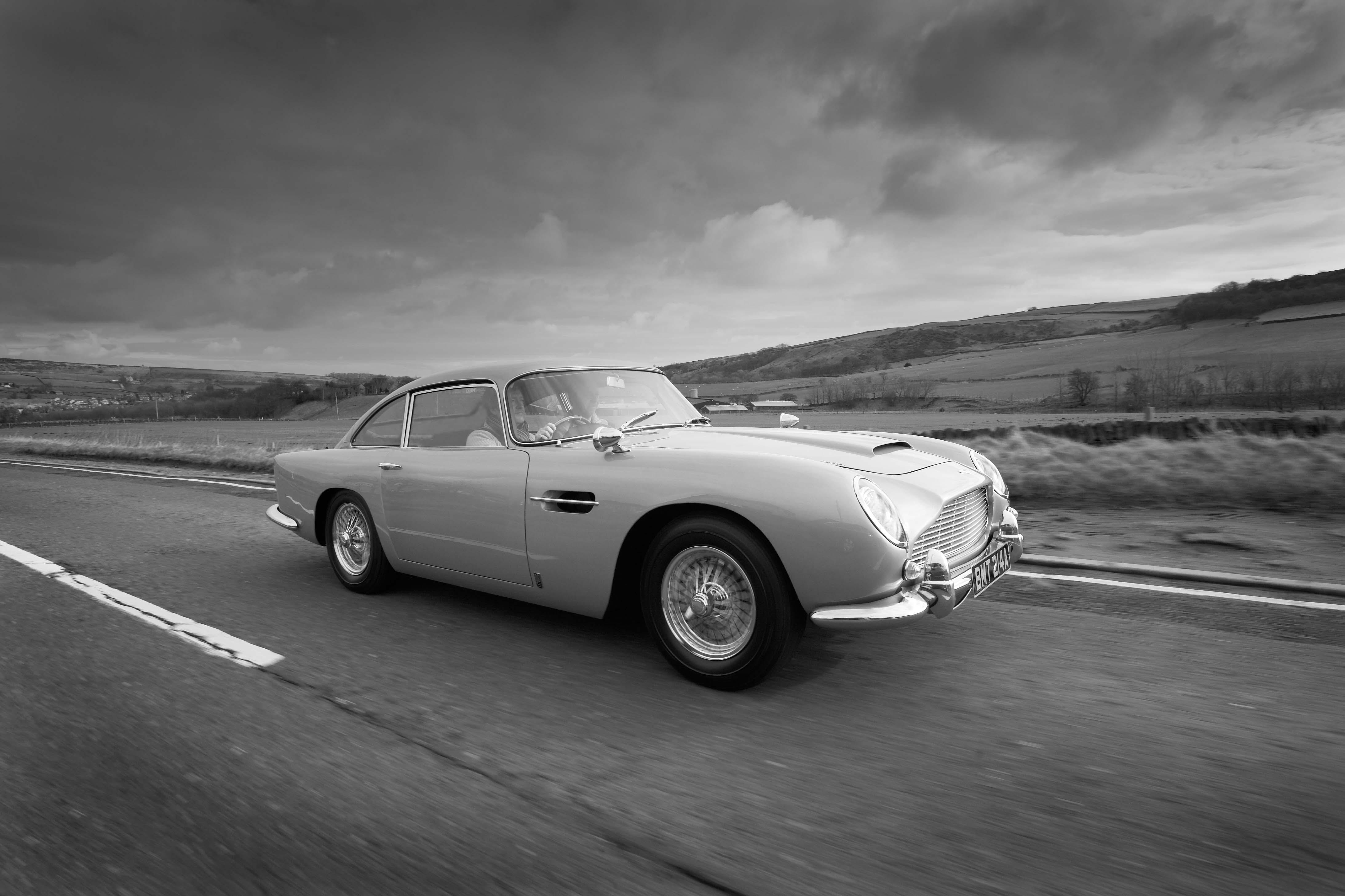 1965 Aston Martin DB5 Black and White