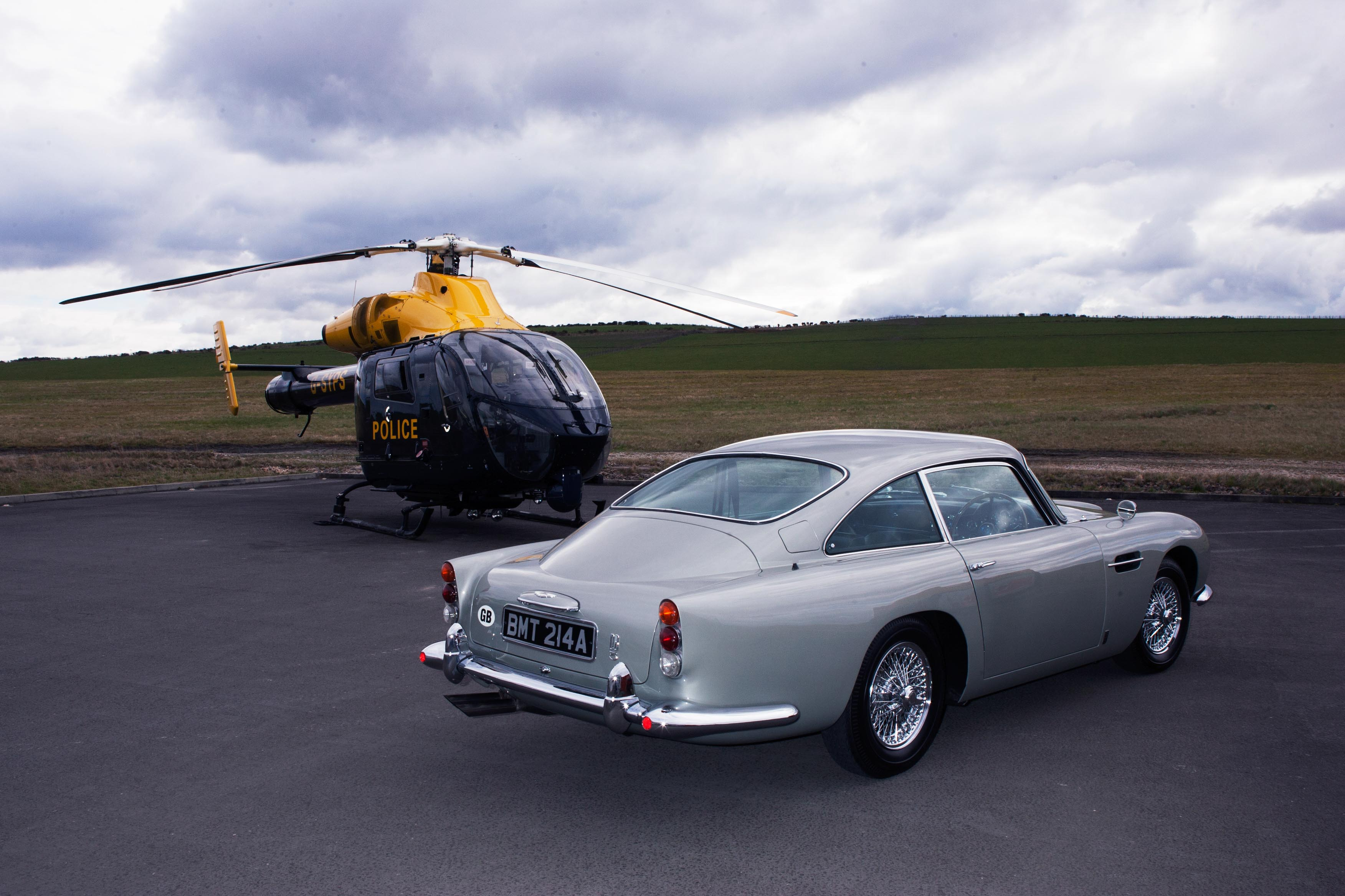 1965 Aston Martin DB5 Helicopter