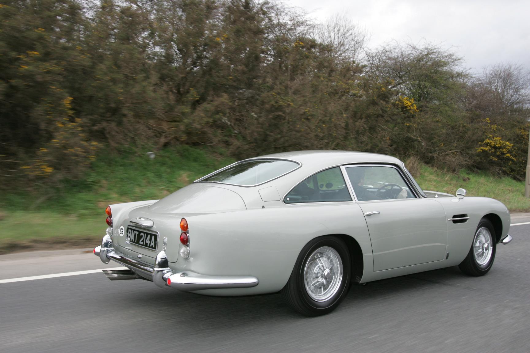 1965 Aston Martin DB5 Moving Rear Photo