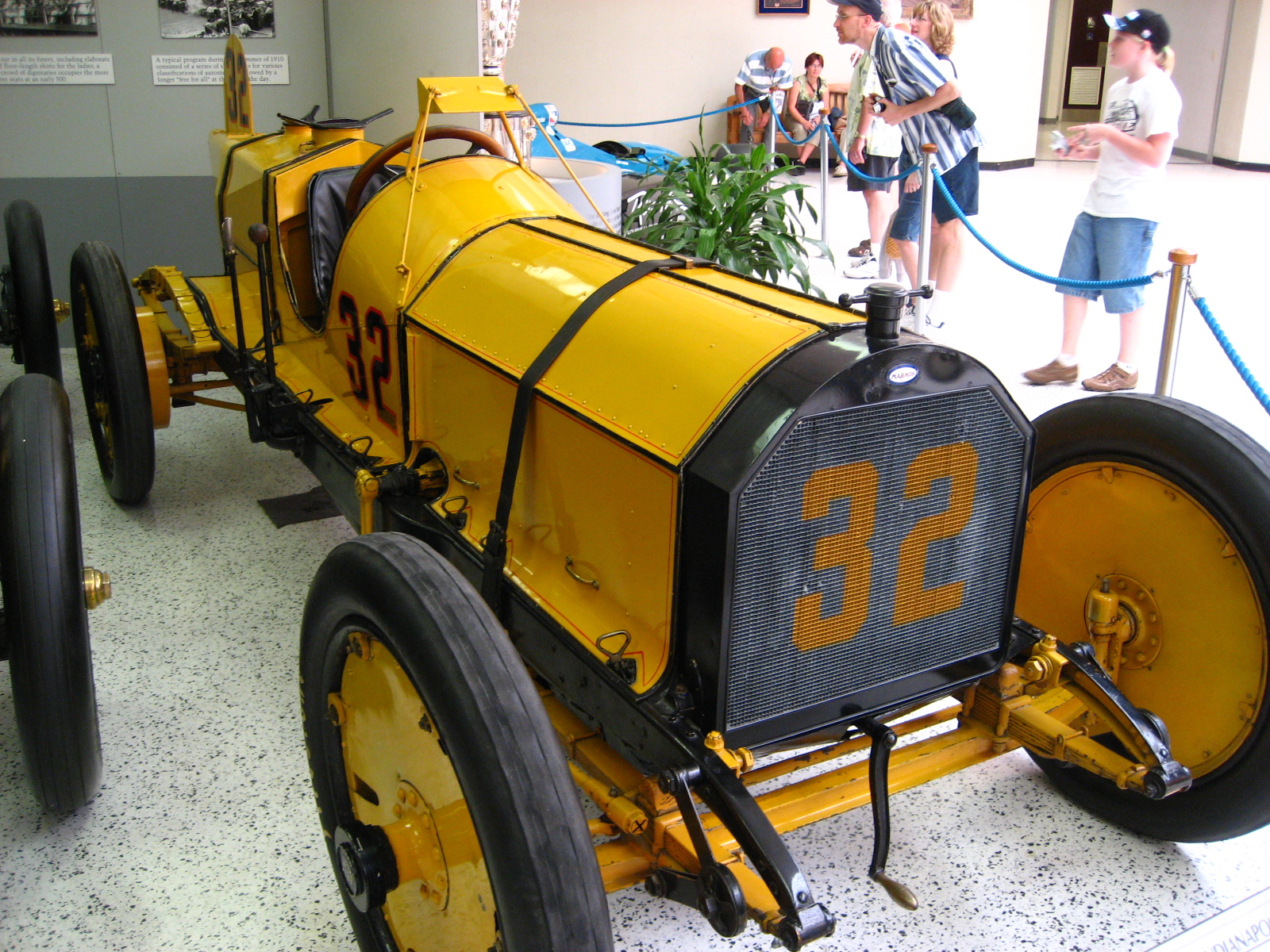 Ray Harroun's Marmon Wasp which won the 1911 Indianapolis 500