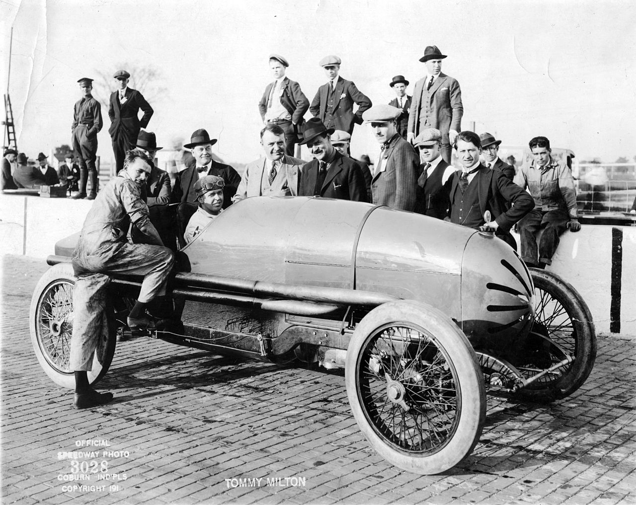 Tommy Milton at the 1921 Indy 500