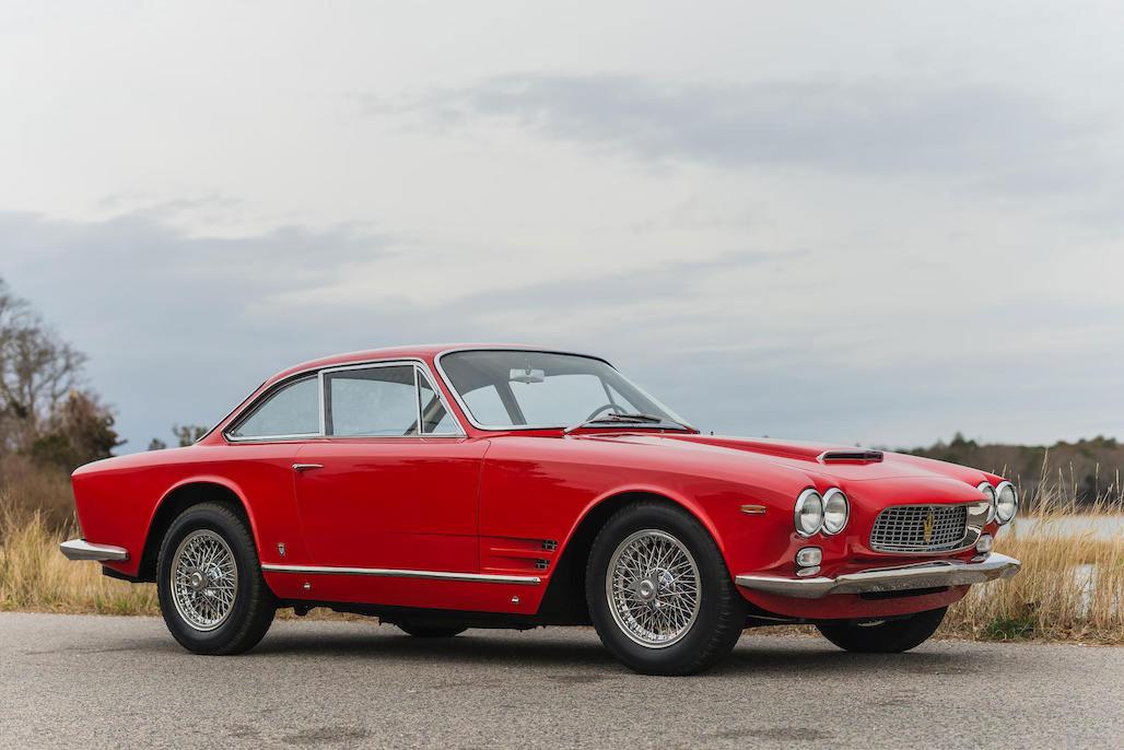 1963 Maserati Sebring 3500GTi Series 1 front 3/4