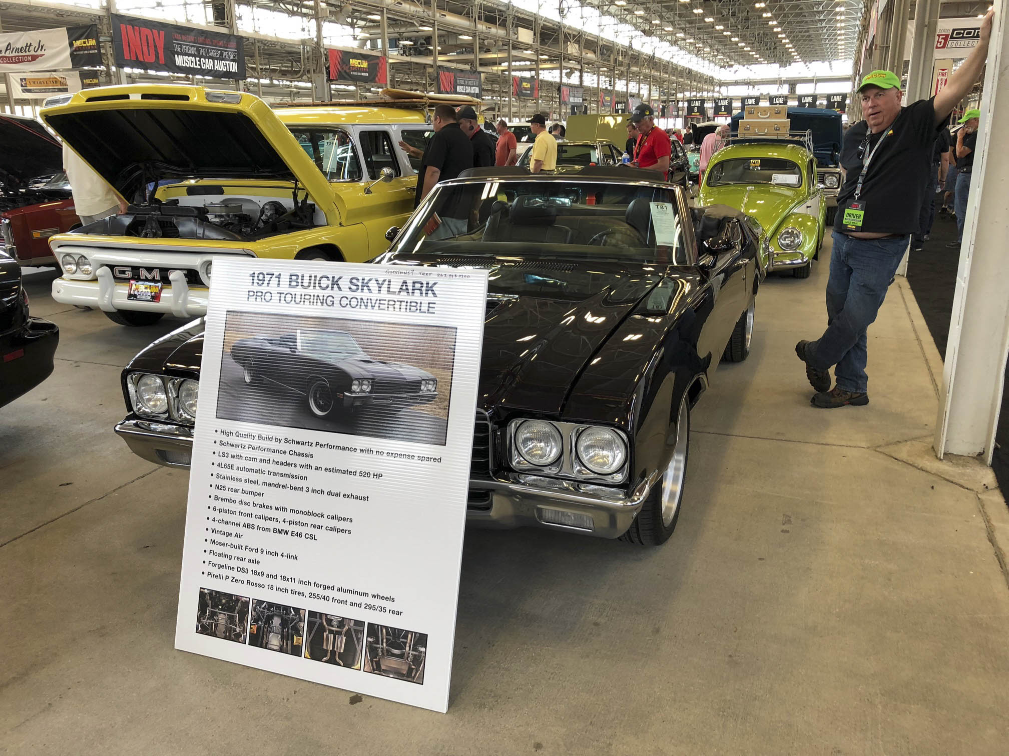 1971 Buick Skylark pro touring convertible