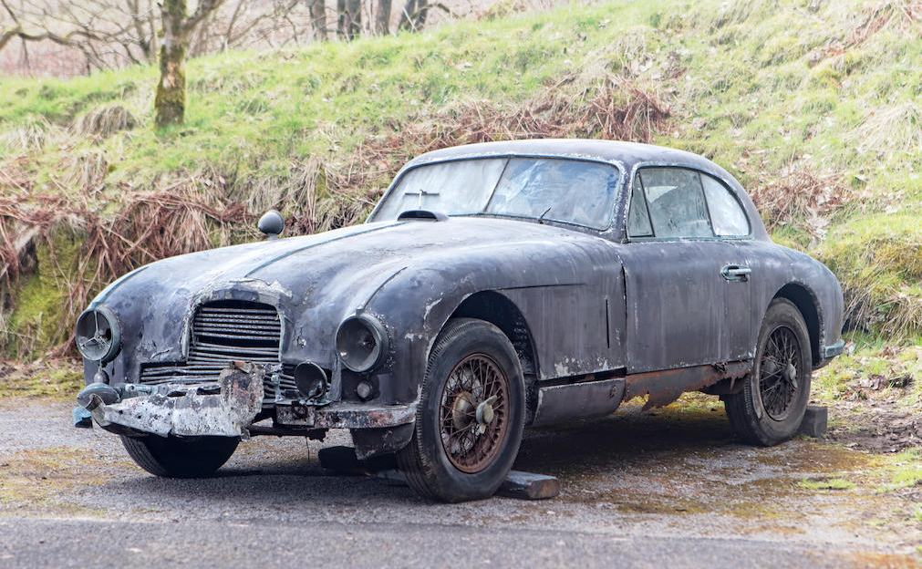 1951 Aston Martin DB2 Sports Saloon Project front 3/4
