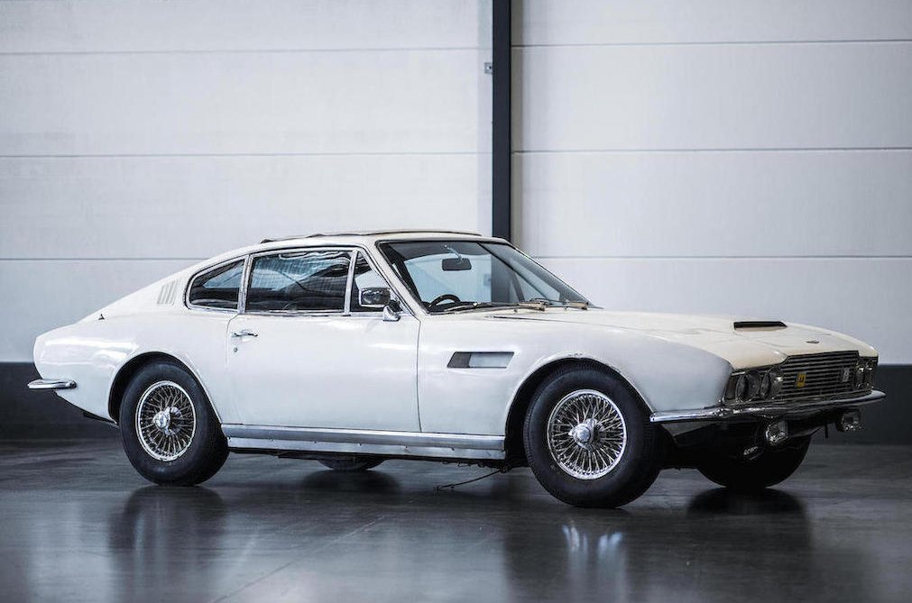 1968 Aston Martin DBS Sports Saloon front 3/4