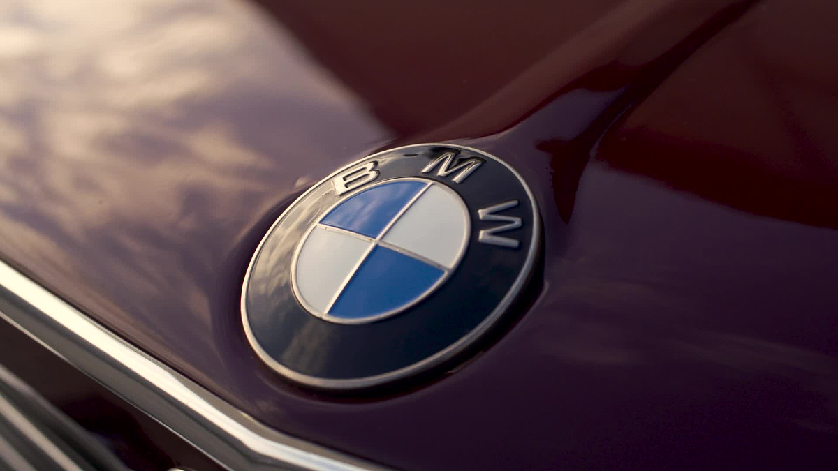 BMW hood badge