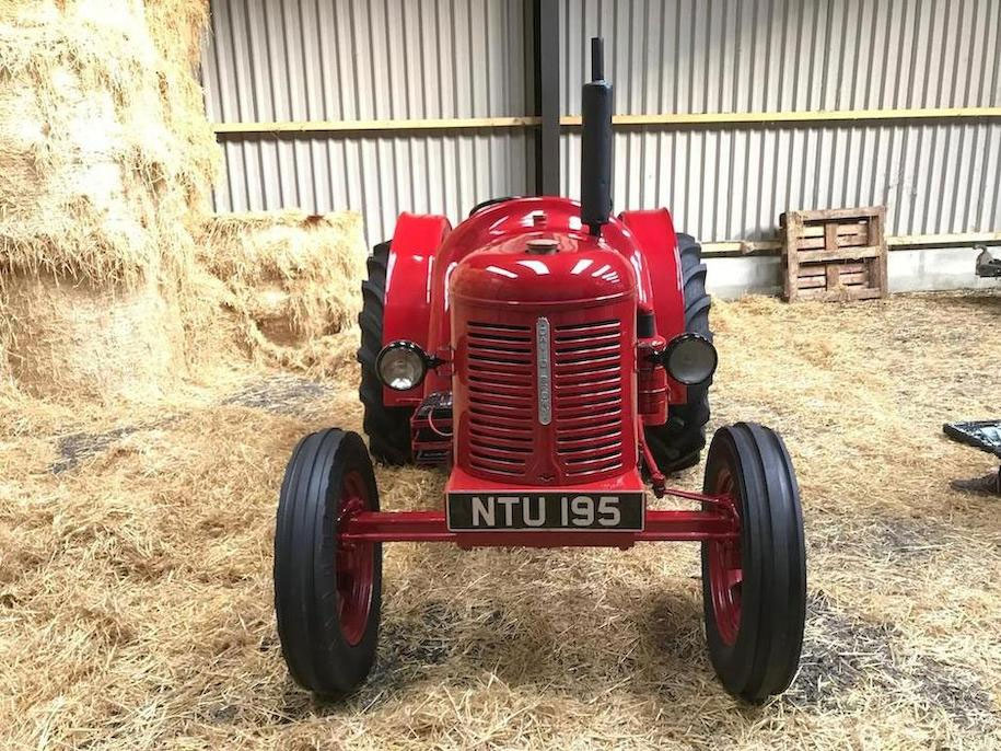 1951 David Brown T.V.O Cropmaster Tractor front
