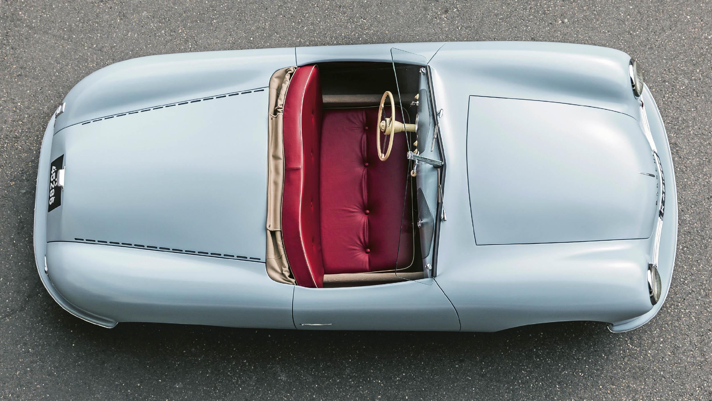 2018 Porsche 356 no. 1 replica