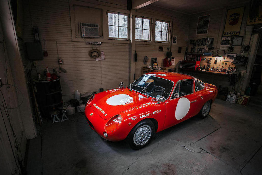 1963 Fiat Abarth MONOMILLE GT UPGRADED TO BIALBERO SPECIFICATION
