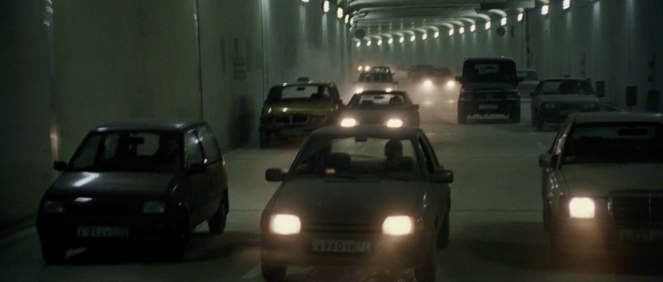 Bourne Supremacy Car Chase Tunnel